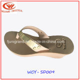Women High Slope Sandals Summer Slipper for Ladies