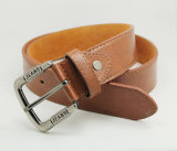Classic and Basic Man Belt with Split Leather Linning M544