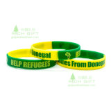 Segment Color Silicon Wristband for Vocal Concert Supporter Energy