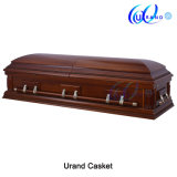 Dome Cover Med. Gloss Velvet Imported Casket and Coffin