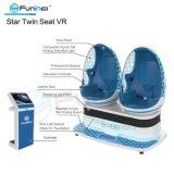 Two Cabins Indoor Motion Simulator 9d Vr Cinema Virtual Reality Simulator Game Machine