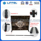 Adjustable Banner Stand Aluminum Telescopic Pop up Wall (LT-21)