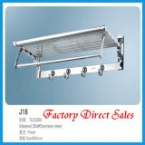 Stainless Steel Bathroom Towel Rack (J18)