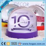 Plastic Picture Frame Water Snow Globe for Decoration