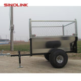 ATV Dump Log Trailer with Fence