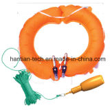 Inflatable Life Buoy Ring for Rescue and Survival (ZHAQHZS)