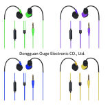 Hot Sell Stereo Water-Proofing Earphone with Mic (OG-EP-6504)