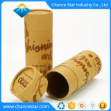 Custom Decorative T Shirt Packaging Kraft Cardboard Paper Tube