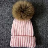 Beautiful Wholesale Fur Ball POM POM Wool Knitted Beanie Hats