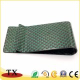 Black and Green Carbon Fiber Business Money Clip for Gifts