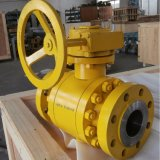 Cameron Forged Steel Split Body Side Entry Flanged Soft Seat Metal Sealed Floating Trunnion Mounted Ball Valve