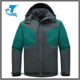 Men's Detachable Waterproof Fleece Ski Jacket