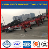 Cimc Wholesale Truck Skeleton Chassis Semi Trailer