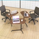 Modern Portable Stand Wooden Laptop Desk for Bed Home Office