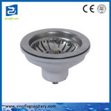 Cheap Stainless Steel Sink Basket Strainer Waste Drain with White Plastic Body