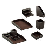 PU Leather Projects Desktop Stationery Sets