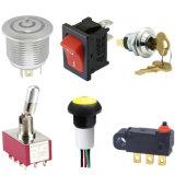 IP67 Waterproof Electronic LED Illuminated Toggle Power Switch Rocker Rotary Push Button Micro Switch