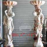 Beautiful Stone Statue Lady Sculpture (GSS-185)
