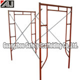Red Lead Painted Door Frame Scaffold System (HF1930) , Guangzhou Factory