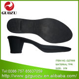 TPR Rough Heel for Women Shoes