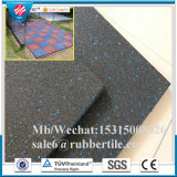 En1177 Rubber Gym Floor Tiles, Playground Sports Flooring