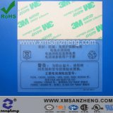 High Temperature Resistant Permanent Clear Caution Lead-Acid Battery Labels