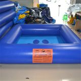 0.9mm PVC Inflatable Swimming Pool for Family and Amusement Park