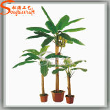 Hot Sale Home Decoration Artificial Plant Banana Potted Bonsai Tree