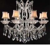European Specific Crystal Candle Lamp (AQ-90907/8+1)