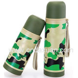 Camouflage Stainless Steel Insulated Vacuum Flask