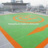 GRP Fiberglass Grating for Rooftop of Building