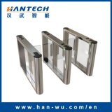 Access Control System Waist Height Automatic Turnstiles with RFID Card Reader