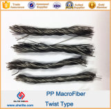 54mm Macrofiber Twisted Bundle PP Fiber for Building