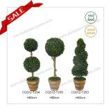 24 Inch Garden Decoration Plastic Bonsai Artificial Tree Pot Flower