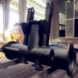 Heavy Steel Structure Fabrication Wid Pipe Parts