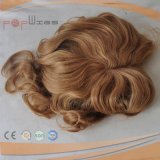 Full Lace Brazilian Hair PU Border Blond Piece (PPG-l-0562)