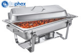 Buphex 9L Stainless Steel Chafing Dish 433 with Stackable Frame for Restaurant Buffet