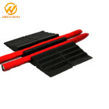 20tons Weight Capacity Rubber Fire Hose Ramp Cable Hose Bridge