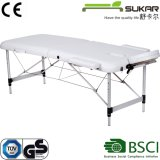 Comfortable Leather SPA Massage Table Bed with Cabinet Storage