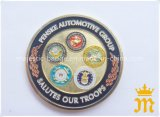 Customized Challenge Coin & Soft Enamel Exchange Coin