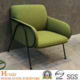Modern Living Room Lounge Chairs Green Upholstery