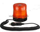 Top Lead Red LED Flashing and Rotating Beacon Light, 12-24V Traffic and Emergency Lamp