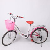 """Facotry Direct Price Durale 24"""" City Bike for Lady (9616)"""