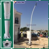 Outdoor 6m Easy Mounting Aluminum Lightweight Light Pole Installation