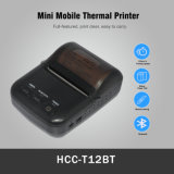 Hand Held 58mm Portable Ticket Billing Receipt Mobile Printer (HCC-T12BT)