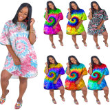 2020 New Fashion Xxxl Women Clothing Plus Size Custom Color Evening Maxi Dress