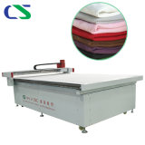 CNC Round Knife Cutting Machine with Factory Bulk Price and Apply to Garment Jeans Sportswear Multi-Layer Fabric
