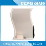 5-6mm Wavy Beveled Polished Frameless Wall Bath Mirror/ Bathroom Mirror