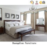 Wholesale Commercial Contemporary Hospitality Bedroom Sofa Hotel Furniture Set (HD025)