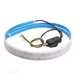 1.2m Side Light Red Ice Blue LED Tail Light Strip